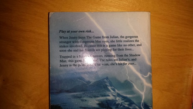 Back cover of The Hunter (1994)