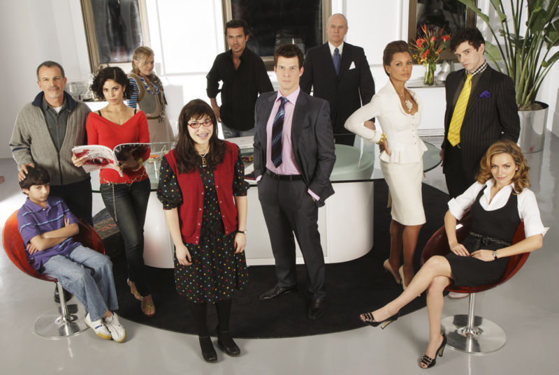 The Original Cast of Ugly Betty