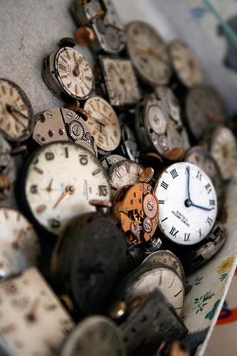 broken clocks